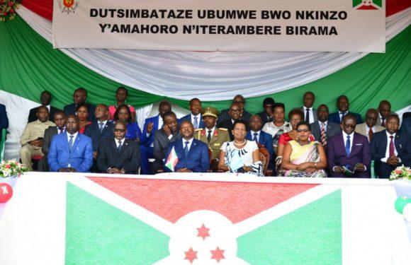 Les 28 ans de la Charte de l'Unité Nationale à Gitega, nouvelle capitale du Burundi