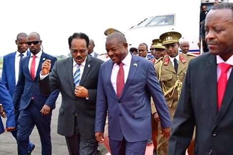 Burundi : Visite d'Etat de 2 jours du Président Somalien