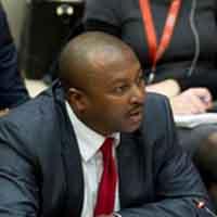 Discours de S.E.M. l'Ambassadeur Albert SHINGIRO, Représentant Permanent du Burundi auprès de l'ONU lors de la réunion de configuration-Burundi de la Commission de Consolidation de la paix sur la situation au Burundi, New York, 06 mars 2019