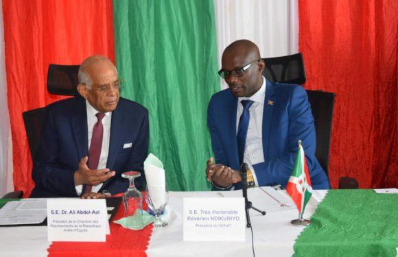 Burundi : Visite du Président du Parlement de l'Egypte
