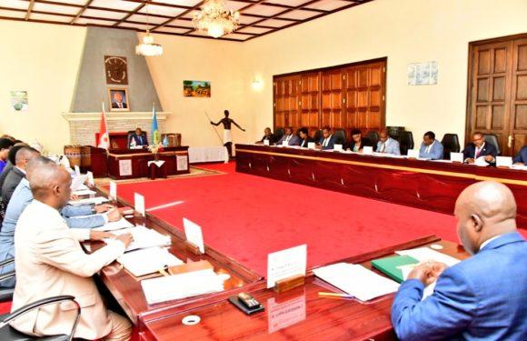 Burundi : Conseil des Ministres du mercredi 20 au jeudi 21 mars 2019 – Les départements ministériels à la capitale politique et la capitale économique