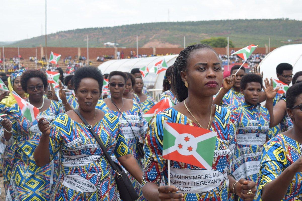 Journée internationale de la femme à Gitega,  Burundi, vendredi 8 mars 2019  - Photo : Nkurunziza Graciose