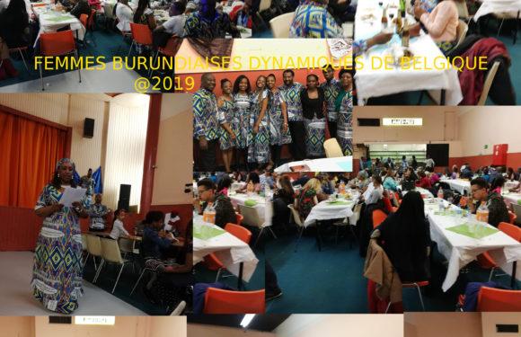 Femmes Burundaises Dynamiques de Belgique (FBDB) : Plus de 200 Burundais et amis à la célébration de la Journée Internationale de la Femme, à Bruxelles