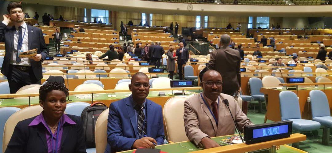Burundi : L'ISTEEBU à la 50ème session de la Commission Statistique des Nations Unis