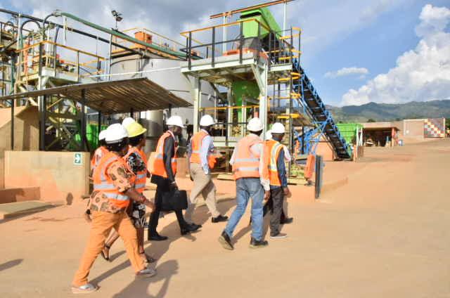 Burundi : La CIRGL visite Burundi Mining Company à Kabezi, Bujumbura