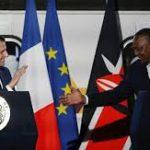 Critiqué en France pour son inaction, Macron se pose en champion du climat au Kenya
