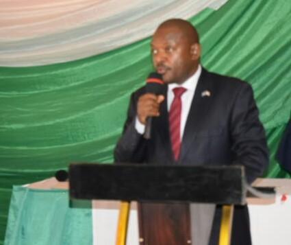 Gitega: le Chef de l'Etat rencontre les cadres du ministère de l'Environnement, de l'Agriculture et de l'Elevage