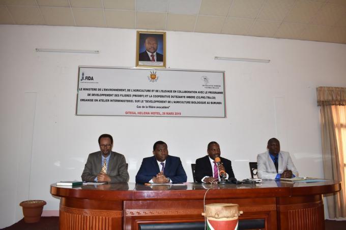 Gitega: lancement officiel de l'agriculture biologique