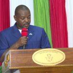 Séance de moralisation par le Chef de l'Etat à l'intention des cadres du ministère des Finances
