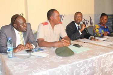 Ouverture d'une réunion des commandants des académies militaires de l'EAC