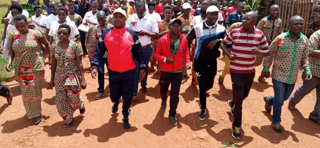 Burundi : Le CNDD-FDD vérifie son encrage à Muyinga à 1 an des élections démocratiques de 2020
