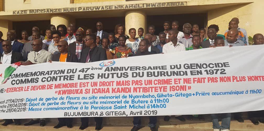 47ème anniversaire du Génocide contre les Bahutu du Burundi en 1972 : Entre 300.000 à 500.000 morts entre avril et mai 1972.