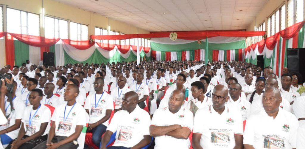 Burundi : Ouverture de la Conférence Nationale des Jeunes,édition 2019, à Gitega
