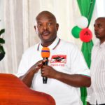 Burundi : Prière d'action de grâce à la permanence nationale du CNDD-FDD de Bujumbura