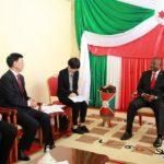La Chine et le Burundi conviennent de renforcer leurs relations bilatérales