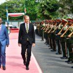 Accréditation de quatre nouveaux ambassadeurs au Burundi