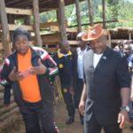 Le Président de la République visite un projet agro-pastoral