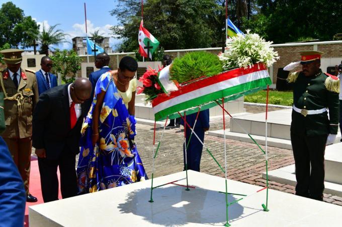 Commémoration du 25eme anniversaire de l'assassinat de feu Président Cyprien Ntaryamira