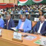 Ouverture de la session parlementaire ordinaire du mois d'avril