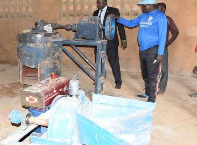 Ruyigi: les travaux de développement en commune Gisuru vont bon train