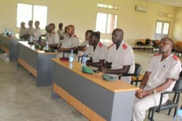 Renforcement des capacités aux magistrats militaires