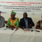 Burundi :   Mwakiro harmonise le programme - Amashiga - des ONGes à  la  Planification nationale