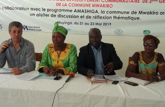 Burundi :   Mwakiro harmonise le programme – Amashiga – des ONGes à  la  Planification nationale