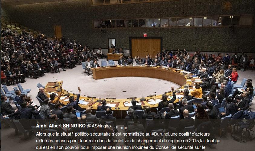 Le Réprésentant ONU du Burundi prévient du retour des Prédateurs de 2015 …