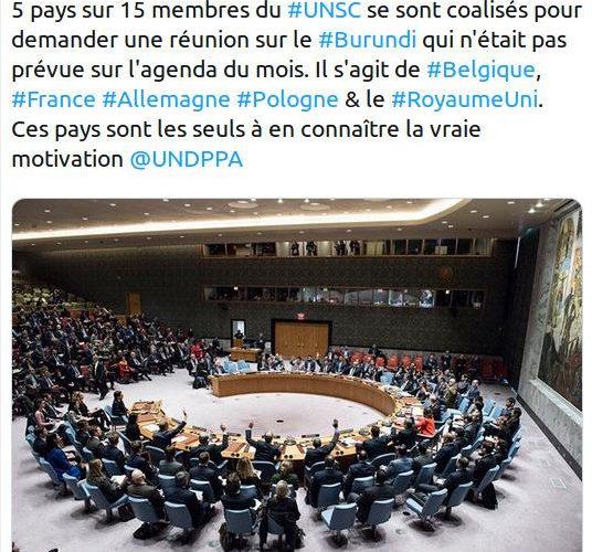 Le Burundi dans le viseur d'un changement de régime décidé en décembre 2018 par l'administration TRUMP