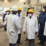 Le Ministre de la sécurité publique visite certaines industries de Bujumbura