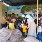 Le Chef de l'Etat octroie une aide à l'orphelinat Maison Nazareth