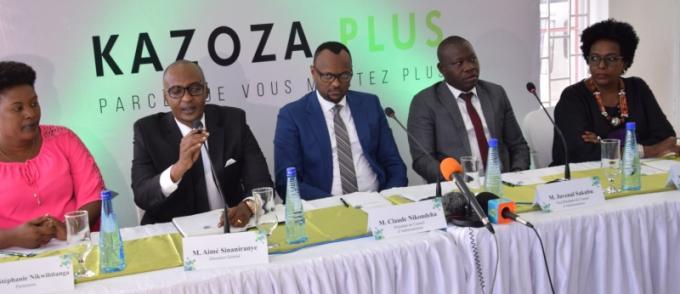 « KAZOZA PLUS » : un nouveau produit de Kazoza Finance