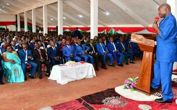 Les burundais invités à propulser leur pays sur la voie d'un développement intégral