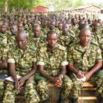 Causerie morale du Chef de la Force de Défense Nationale du Burundi à l' intention des 52è et 53è BN AMISOM