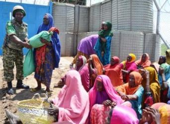 Cent-huit personnes plus vulnérables du camp de déplacés de JAF ont été assistées