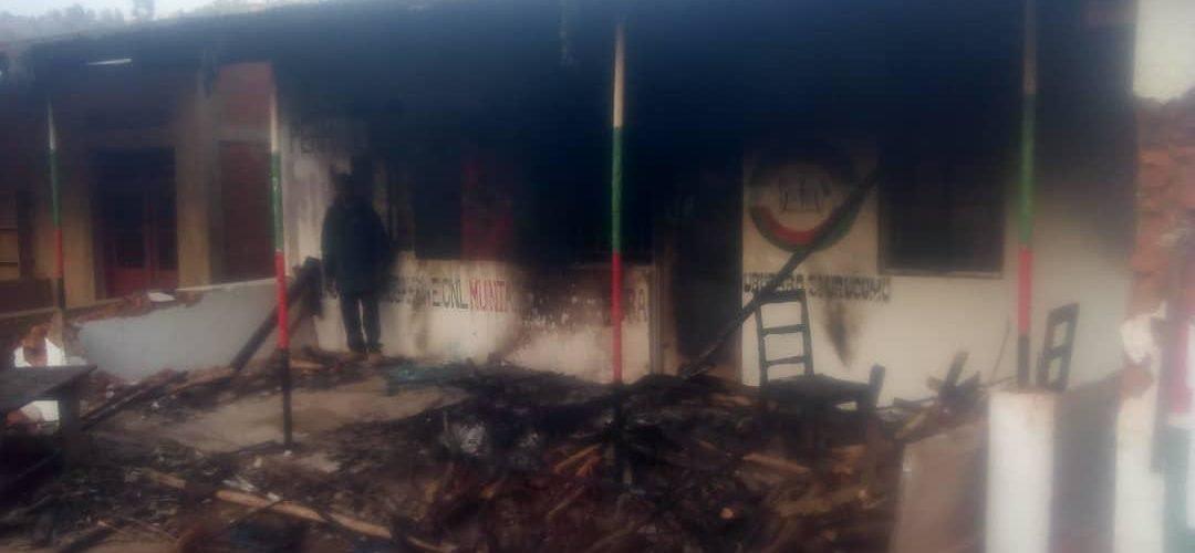 La permanence provinciale du CNL incendiée à Bujumbura par des inconnus