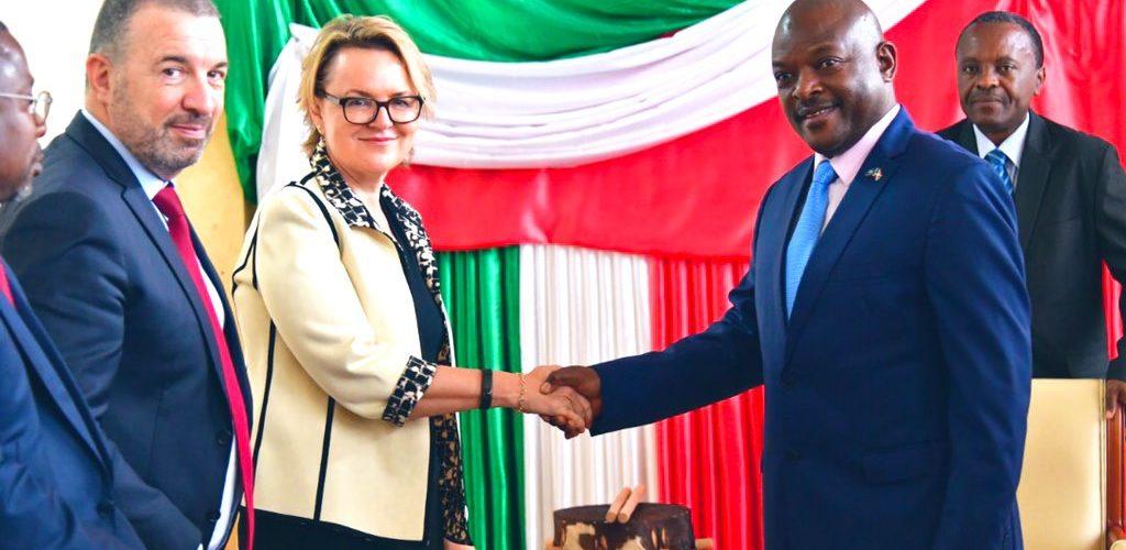 Le Président du Burundi reçoit la Directrice régionale de la Banque Mondiale
