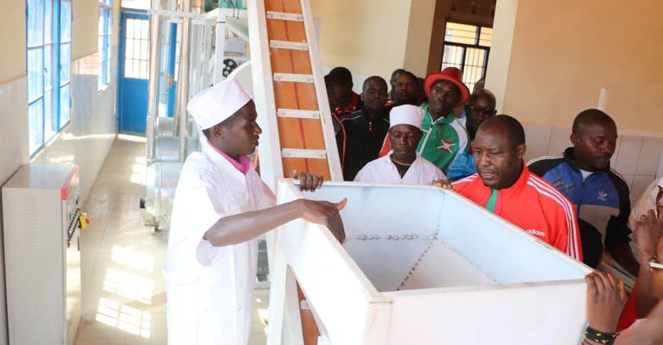 Burundi : Le CNDD-FDD félicite la coopérative Duhingurumwimbu valorisant la patate douce