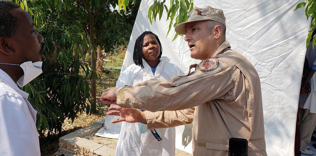 L' Armée US au Burundi pour participer à un exercice ANTI EBOLA