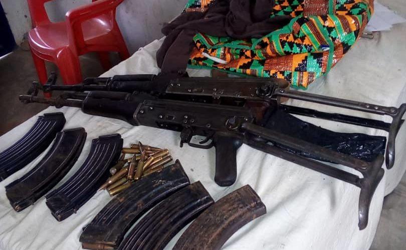 La Police découvre des armes dans une maison à Gihosha, Bujumbura
