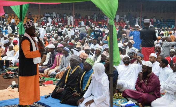 Ngozi : les musulmans célèbrent la fête d'Eid El Fitr