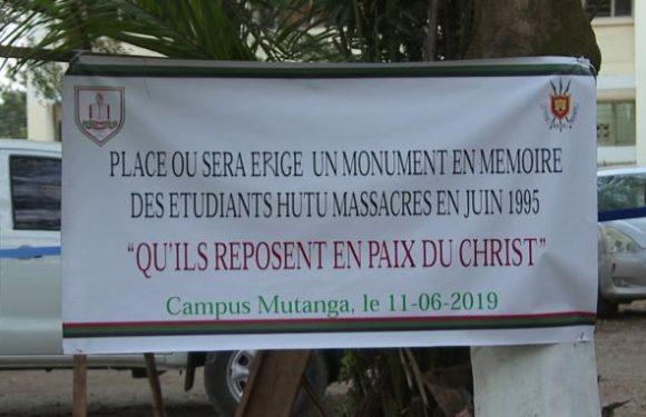 Commémoiration du massacre du 11 juin 1995 dans les campus de l'université du Burundi