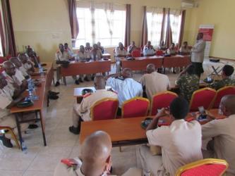Le rôle des officiers de la FDNB dans la consolidation de la paix