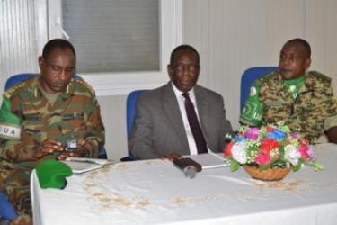 Le numéro un de l'AMISOM satisfait de la mise en œuvre du plan de transition et du CONOPS