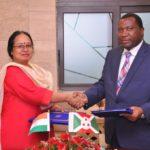 Signature d'accord d'une ligne de crédit entre EXIM Bank Inde et le Burundi