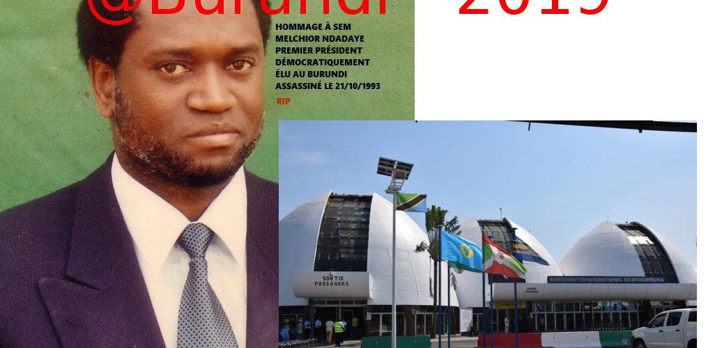 Fête de l'Indépendance 2019 : L'aéroport International de Bujumbura devient l'aéroport International NDADAYE Melchior