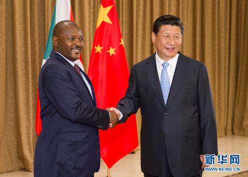 La Chine souhaite les meilleurs vœux au Burundi pour ses 57 ans d'Indépendance