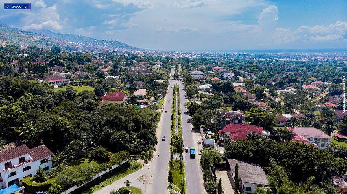 Burundi : Le – Boulevard du 28 novembre – devient- Boulevard Mwezi Gisabo ( Photo : AKEZANET 2019 )