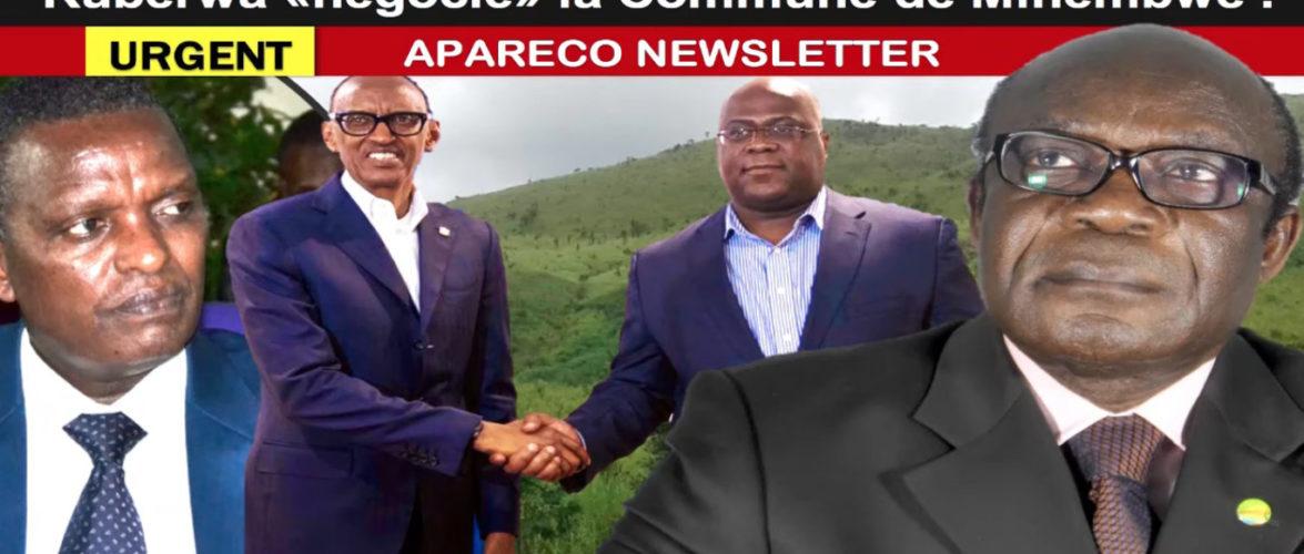 Burundi : Le Rwanda et Buyoya comptent annexer le Sud Kivu, RDC