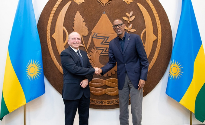 Le Rwanda accueille le Conseiller principal de la Sécurité Nationale Israélienne, envoyé spéciale du PREMIER MINISTRE ISRAELIEN M. Netanyahu.